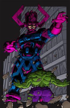 Ajax vs Hulk | Galactu...