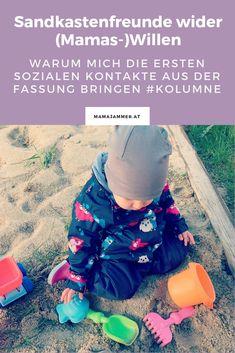 Sandkastenfreunde wider Mamas Willen #sandkiste #sandkasten #kinderfreundschaft #mamajammer #mamablog Mama Blogger, Sneakers, Baby, Toddler Themes, Playground, Challenges, Parents, World, Tennis