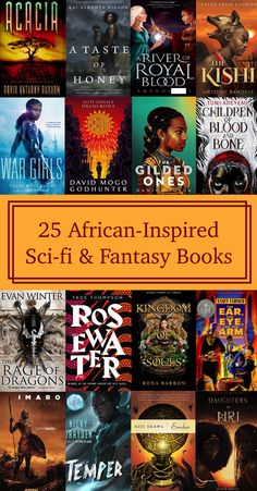 Check out our list of African-Inspired Science Fiction & Fantasy Books! Science Fiction Books, Fiction Writing, Pulp Fiction, Dystopian Fiction Books, Books By Black Authors, Writing Fantasy, Fantasy Books To Read, Good Books, My Books
