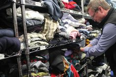 Collection Drive and Day of Service at The Sharing Shelf in Port Chester - Nov. 2014