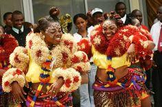 Moninkim dancers from Cross River State - Nigeria