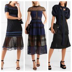 Como combinar vestido azul navy