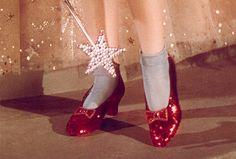 Les souliers de Dorothée dans le Magicien dOz, 1939