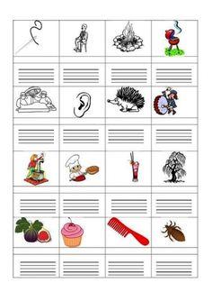 ÍRD LE A KÉPEK NEVÉT! FELADATLAPOK - webtanitoneni.lapunk.hu Dysgraphia, Grade 1, Grammar, Diy And Crafts, Classroom, Teaching, Writing, Education, School