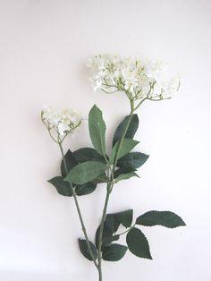 White Artificial Elderflower