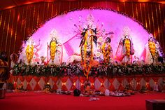 North Bombay Durga Puja Tulip Star Juhu