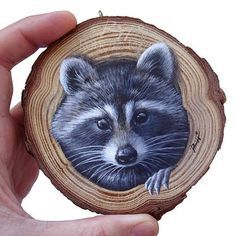 Wood Painting Art, Tole Painting, Wood Art, Wood Wood, Diy Wood, Cool Paintings, Animal Paintings, Wildlife Paintings, Dog Face Drawing