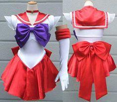 Oasis Costume - Super Sailor Moon Sailor Mars cosplay costume Sailor Raye fancy dress, $56.00 (http://www.oscostume.com/106)
