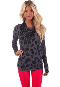 Lime Lush Boutique - Charcoal Leopard Print Top , $42.99 (http://www.limelush.com/charcoal-leopard-print-top/)