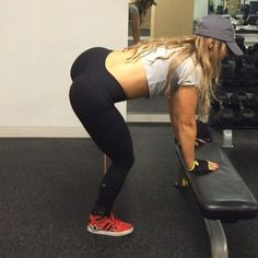 Get better isolation in your abductor lifts by bending over with a flat back and soft knees. This prevents you from swinging and puts all the load in the target muscle group! I'm using my lateral bands which are available on Getfitandthick.com @getfitandthick @fitandthickworkout #fitandthickworkout