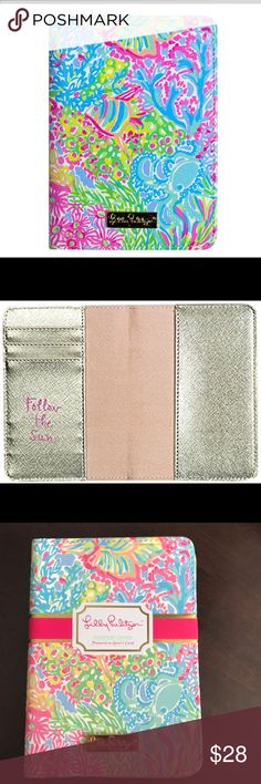 NWT Lilly Pulitzer passport holder Lovers Coral Take trips to exotic beaches in style and let everyone know you are a true Lilly lover with this patterned passport case. Bon Voyage! Cross posted! Bundle for the best deal! Lilly Pulitzer Accessories