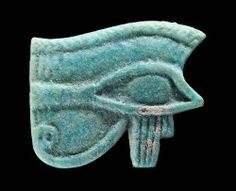 Eye of Horus (wedjat)  Egyptian amulet   Late Period Dynasty 26–30  664–332 B.C.