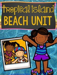 This is a 70-page product that includes reading, writing, math, and crafts all focused on a tropical islands and beach theme. Kids will have fun learning about islands, researching an island of choice, solving beach/island math, and even creating an island of their own.