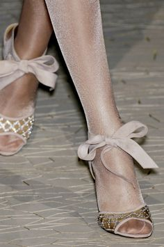 Shimmer and bows