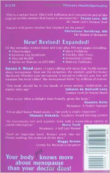 New Menopausal Years : The Wise Woman Way, Alternative Approaches for Women 30-90 (Wise Woman Ways): Susun S. Weed: 9781888123036: Amazon.co...
