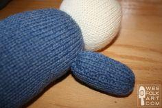 Basic Knit Doll in 6 Sizes   Wee Folk Art