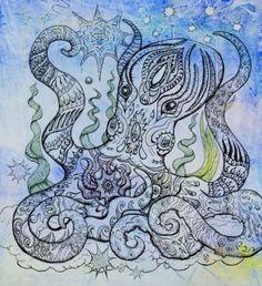 """starry octopus"" | kat shevchenko"