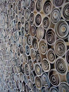 Rolled Paper Art by designerista, via Flickr