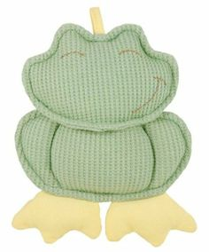 Amazon.com: Dandelion Organic Toy Rattle, Frog: Baby - organic cotton, filled with corn fiber