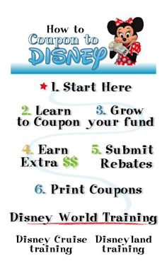 Couponing to DISNEY!