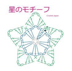 Crochet Star Patterns, Crochet Coaster Pattern, Crochet Snowflake Pattern, Crochet Stars, Crochet Motifs, Crochet Snowflakes, Crochet Diagram, Crochet Flowers, Small Crochet Gifts