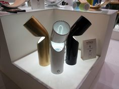 Ecotono.it: news at Ambiente fair. Led ceramic lamp with amply speakers integrated. 2 functions in 1 product!