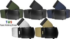 Different shades of military belts in all sizes are available at us. For more details click on the below link or call us on +9833884973/9323558399 http://tapeswebbingstraps.in/ Courtsey : Tapes Webbing strap