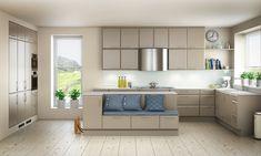 Huseby Kjøkken Signatur Oliven Aged Care, New Room, Kitchen Cabinets, Kitchen Ceilings, Home Decor, Room Ideas, Image, Olives, Coat Racks