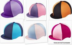 Capz Lycra Cap Covers Quarters Made from nylon lycra this washable close fitting cover fits all sizes of Skull Caps 6 segments of alternative
