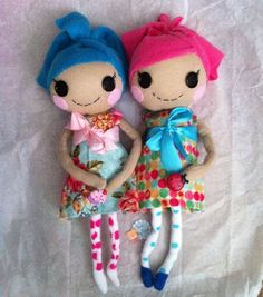 Lalaloopsy Rag doll by anniesantiquities on Etsy, $20.00