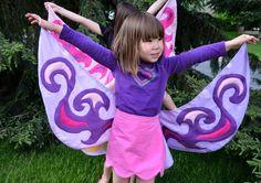 DIY Fairy Costume : Fairy Wings Tutorial  : DIY Halloween DIY Costumes