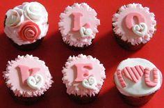 cupcakes dias del amor y la amistad 2014 - Buscar con Google