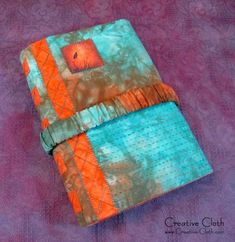 Hand-dyed Fabric Journal Cover