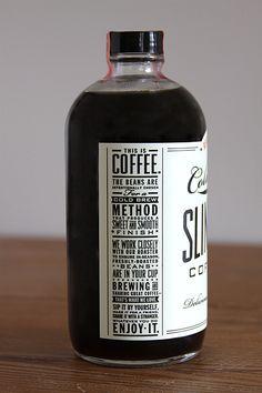 Dapper Paper, The Blog.: BRANDED: SLINGSHOT COFFEE CO.  #coffee #design #packaging