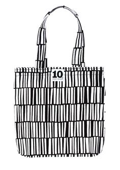 Childeren's cotton bag. 10-gruppens pattern Zibidie by Tom Hedqvist. www.tiogruppen.com