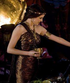 Eva Green as Morgan Pendragon in Camelot (TV Series, 2011). ~Attire from another Era~