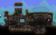 A detailed account of my Terraria experience as a weirdo who likes building pretty things - Album on Imgur