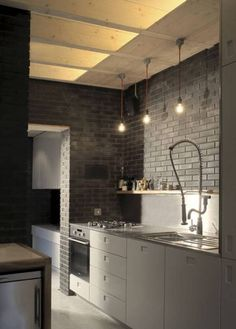 Masculine Kitchen Designs With White Cabinets