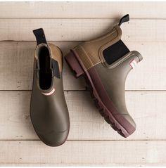 Women's Chelsea Two-Tone Boot - Footwear