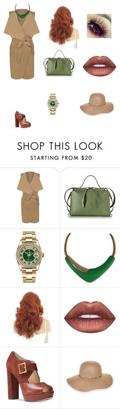 """Untitled #10"" by senadaa-berbic ❤ liked on Polyvore featuring WearAll, Jil Sander, Rolex, Monet, Lime Crime, Michael Kors and Nine West"