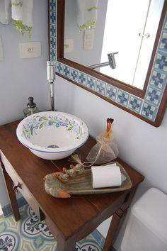 Banheiro Cobertura : Banheiros rústicos por AWDS Arquitetura e Design de Interiores
