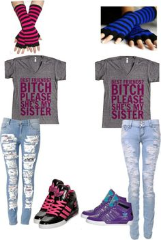 """""""best friend outfits"""":"""