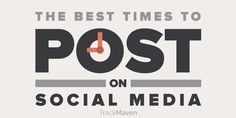 Best times to post on #SocialMedia, plus 75 industry-specific breakdowns | by @rleewhite  for @TrackMaven  | #SMM | Do you know the best times to post on social media for your business? We found out for you — take a look at this cheat sheet!