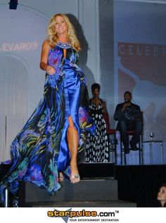 Lauri Peterson - 2010 Celebrity Catwalk