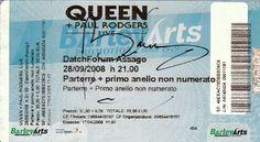 Datch Forum Milano - Ticket for Queen concert