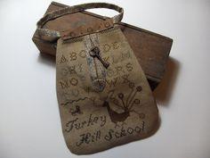 Turkey Hill Schoolgirl Pocket design by Stacy Nash Primitives