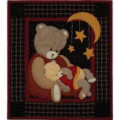 Rachels of Greenfield Baby Bear Wall Quilt Kit