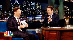 (3:06) Cumberbatch rapping while doing an Alan Rickman impersonation! classic. 1000 points to ENGLAND