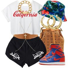 """California Dreaming."" by livelifefreelyy on Polyvore"