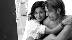 Nikolaj coster waldau and wife - animated